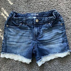 🌺5/$20🌺 Girls Cat & Jack Jean Shorts